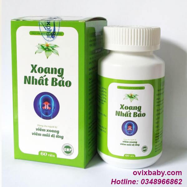 Xoang nhất bảo dùng khi viêm xoang, viêm mũi dị ứng