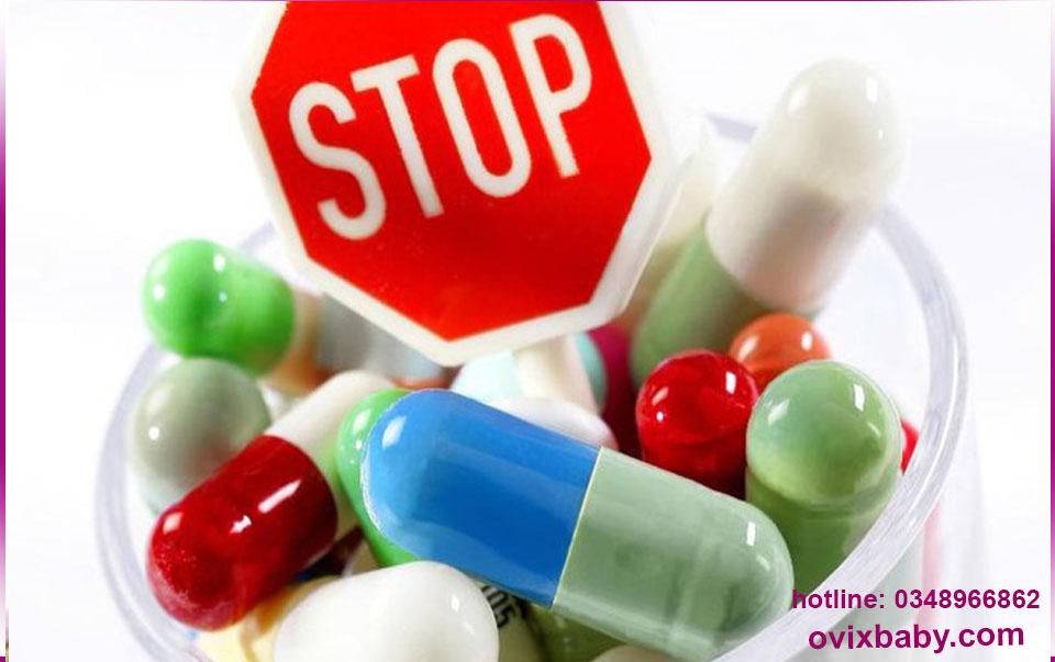 Dừng việc lạm dụng kháng sinh ở trẻ em
