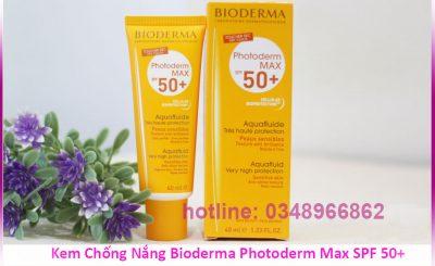 Kem Chống Nắng Bioderma Photoderm Max SPF 50+