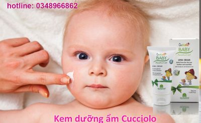 Kem dưỡng ẩm Cucciolo cho bé