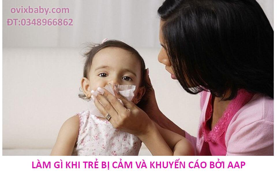Trẻ bị cảm lạnh nhận biết và cách chăm sóc
