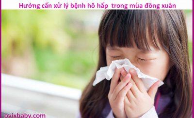 Hướng dẫn xử lý các bệnh đường hô hấp hay gặp mùa đông xuân