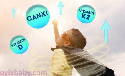 Bổ sung vitamin K để trẻ phát triển toàn diện