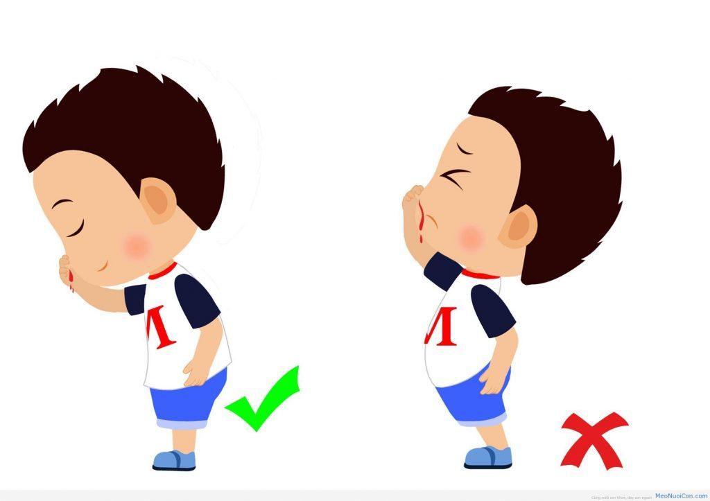 Chảy máu mũi ở trẻ nhỏ cần làm gì