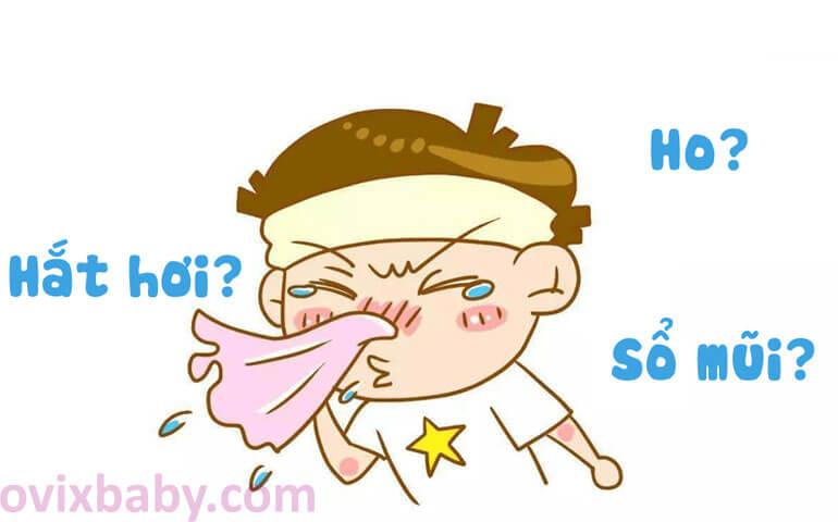 Trẻ hắt hơi sổ mũi lâu ngày dễ biết chứng thành xoang