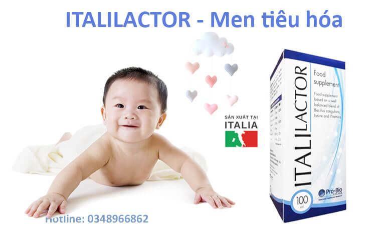 Men vi sinh ITALILACTOR bổ sung PROBIOTIC , LYSIN , VITAMIN giúp hệ tiêu hóa khỏe mạnh