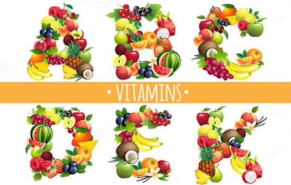 Tác dụng của các loại vitamin và cách bổ sung cho cơ thể