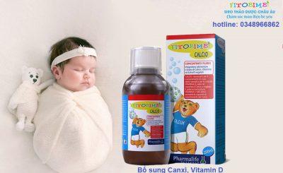 Calcio Bimbi bổ sung Canxi, Vitamin D