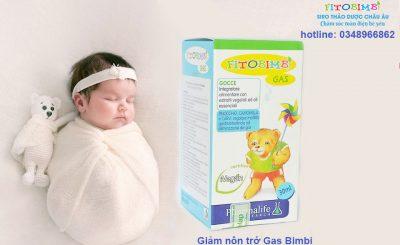 Giảm nôn chớ cho trẻ Fito Bimbi Gas