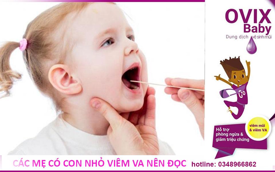 Những biết chứng có thể gặp sau khi nạo VA cho trẻ
