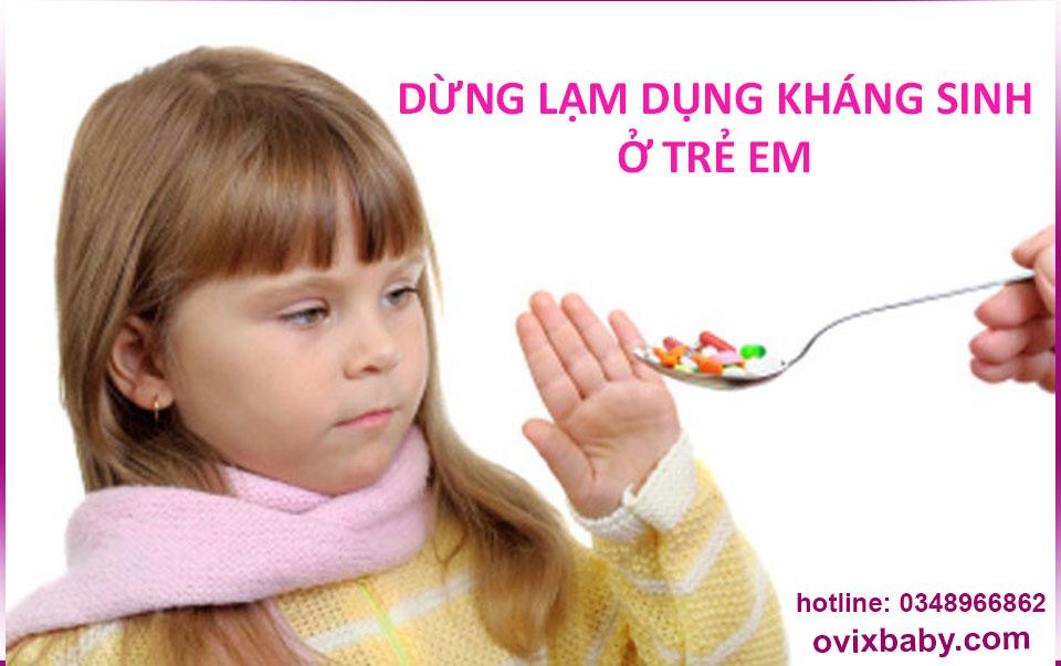 Lạm dụng khách sinh ở trẻ em dây nhiều mắc bệnh viêm khớp