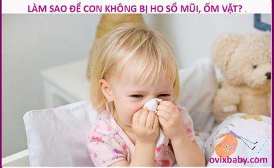 Làm sao để bé sổ mũi kéo dái hết bệnh hô hấp