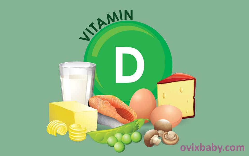 Bổ sung vitamin D ở trẻ nhỏ
